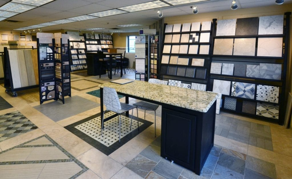 Cincinnati Showroom Floor, Tile