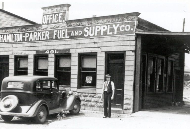 Historical image of Hamilton Parker Building